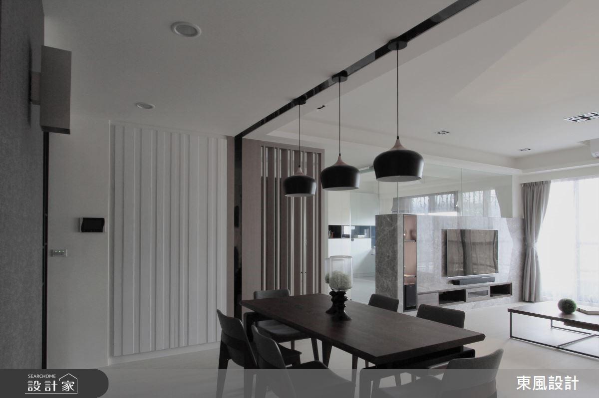 50坪新成屋(5年以下)_現代風案例圖片_東風室內設計_東風_10之1