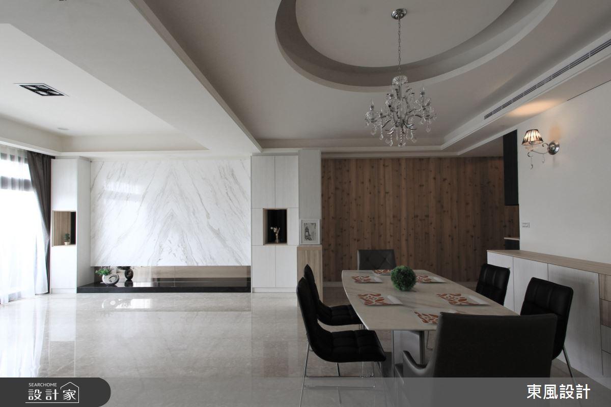 50坪新成屋(5年以下)_混搭風餐廳案例圖片_東風室內設計_東風_24之2