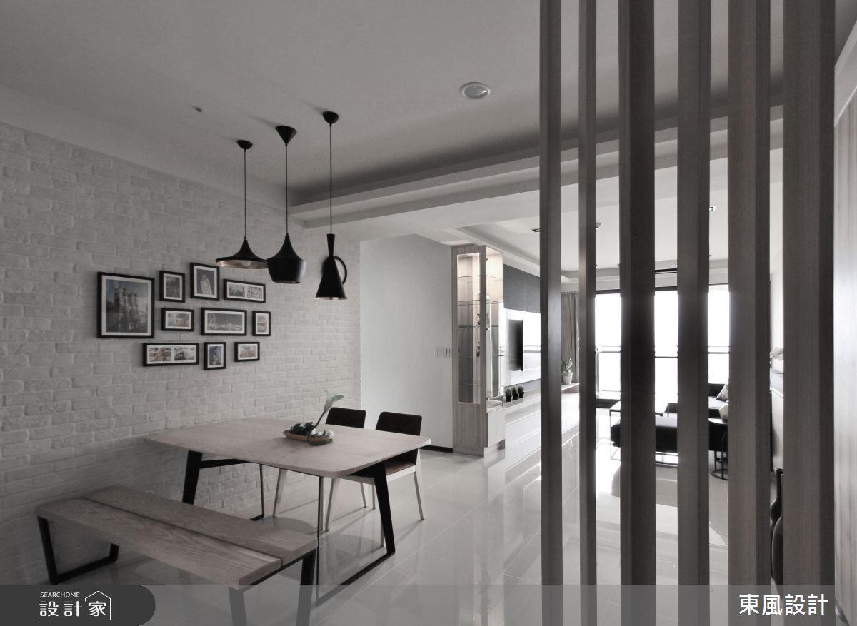 40坪新成屋(5年以下)_現代風餐廳案例圖片_東風室內設計_東風_26之2