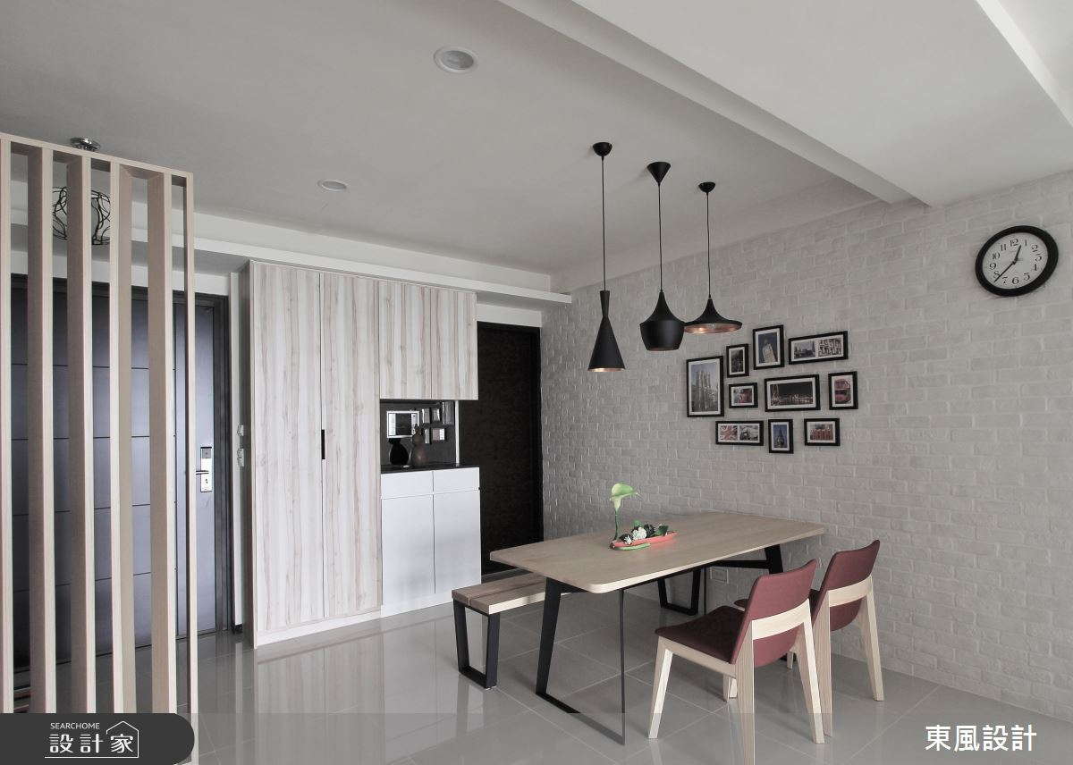 40坪新成屋(5年以下)_現代風餐廳案例圖片_東風室內設計_東風_26之5