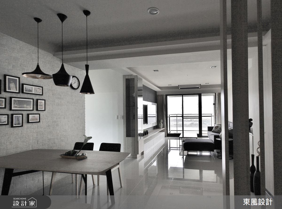 40坪新成屋(5年以下)_現代風餐廳案例圖片_東風室內設計_東風_26之3