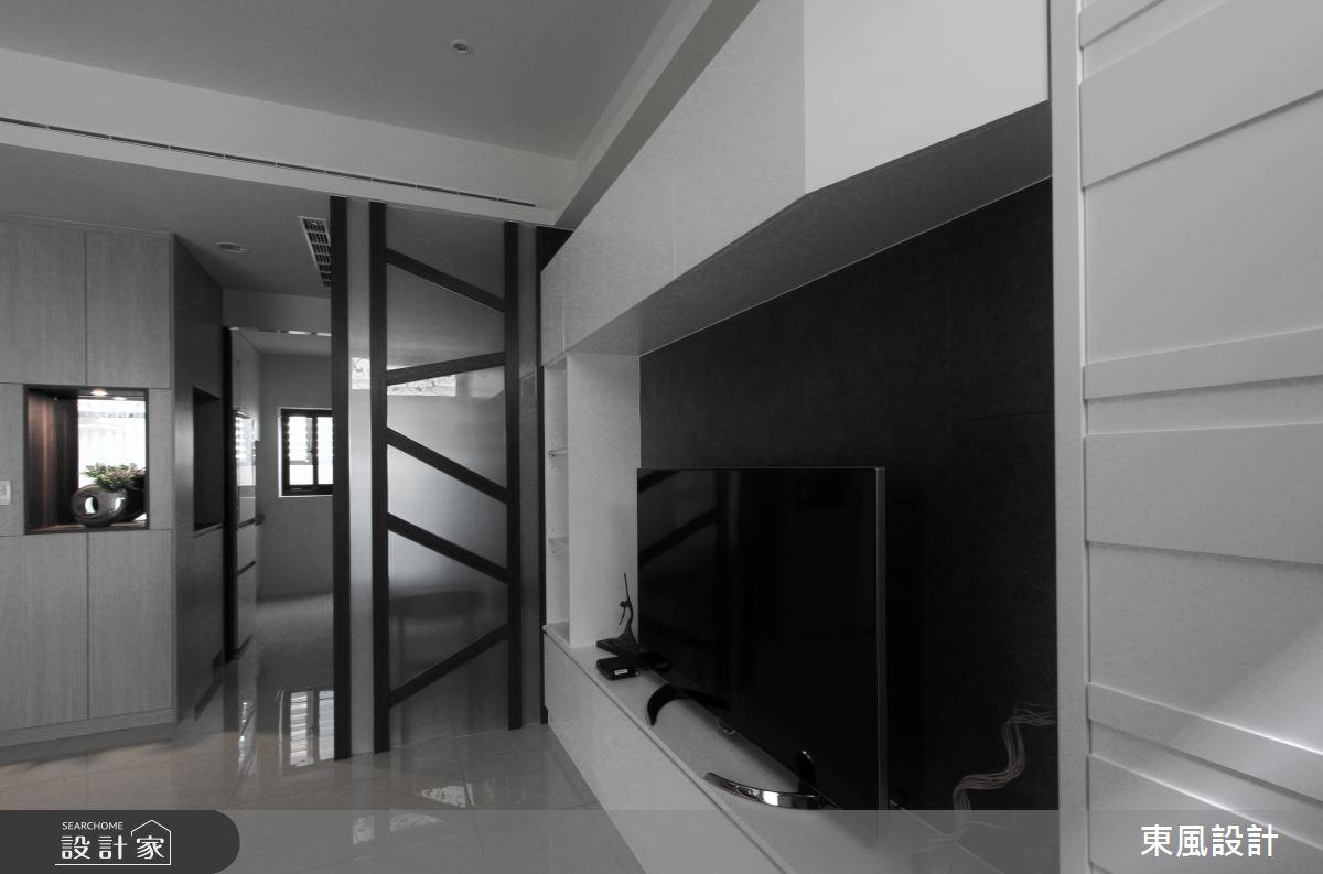 70坪新成屋(5年以下)_休閒風客廳案例圖片_東風室內設計_東風_28之3