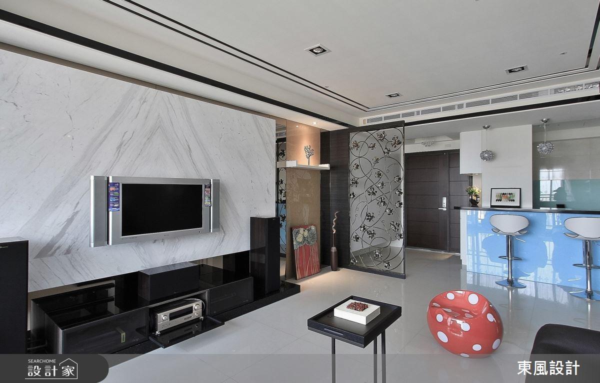 45坪新成屋(5年以下)_奢華風案例圖片_東風室內設計_東風_30之6