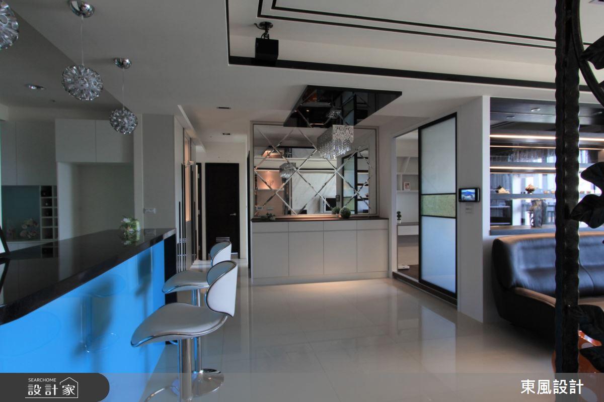 45坪新成屋(5年以下)_奢華風吧檯案例圖片_東風室內設計_東風_30之2