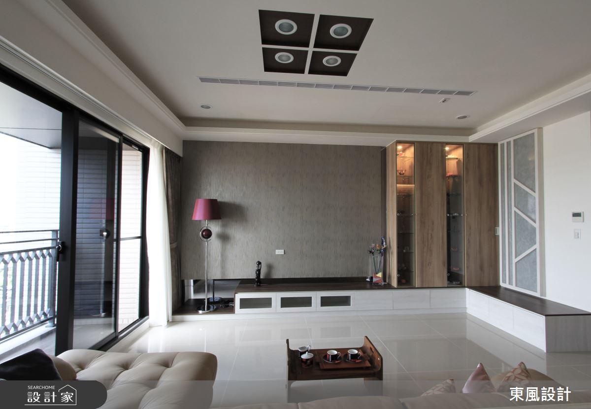 35坪新成屋(5年以下)_北歐風客廳案例圖片_東風室內設計_東風_31之3