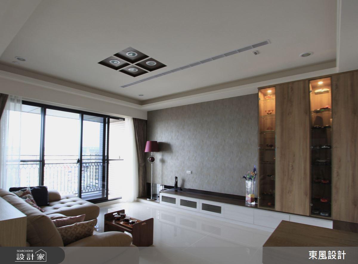35坪新成屋(5年以下)_北歐風客廳案例圖片_東風室內設計_東風_31之2