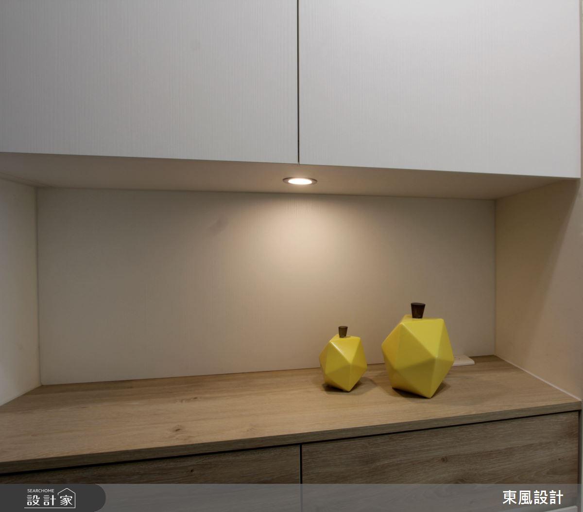 26坪新成屋(5年以下)_簡約風玄關案例圖片_東風室內設計_東風_38之1