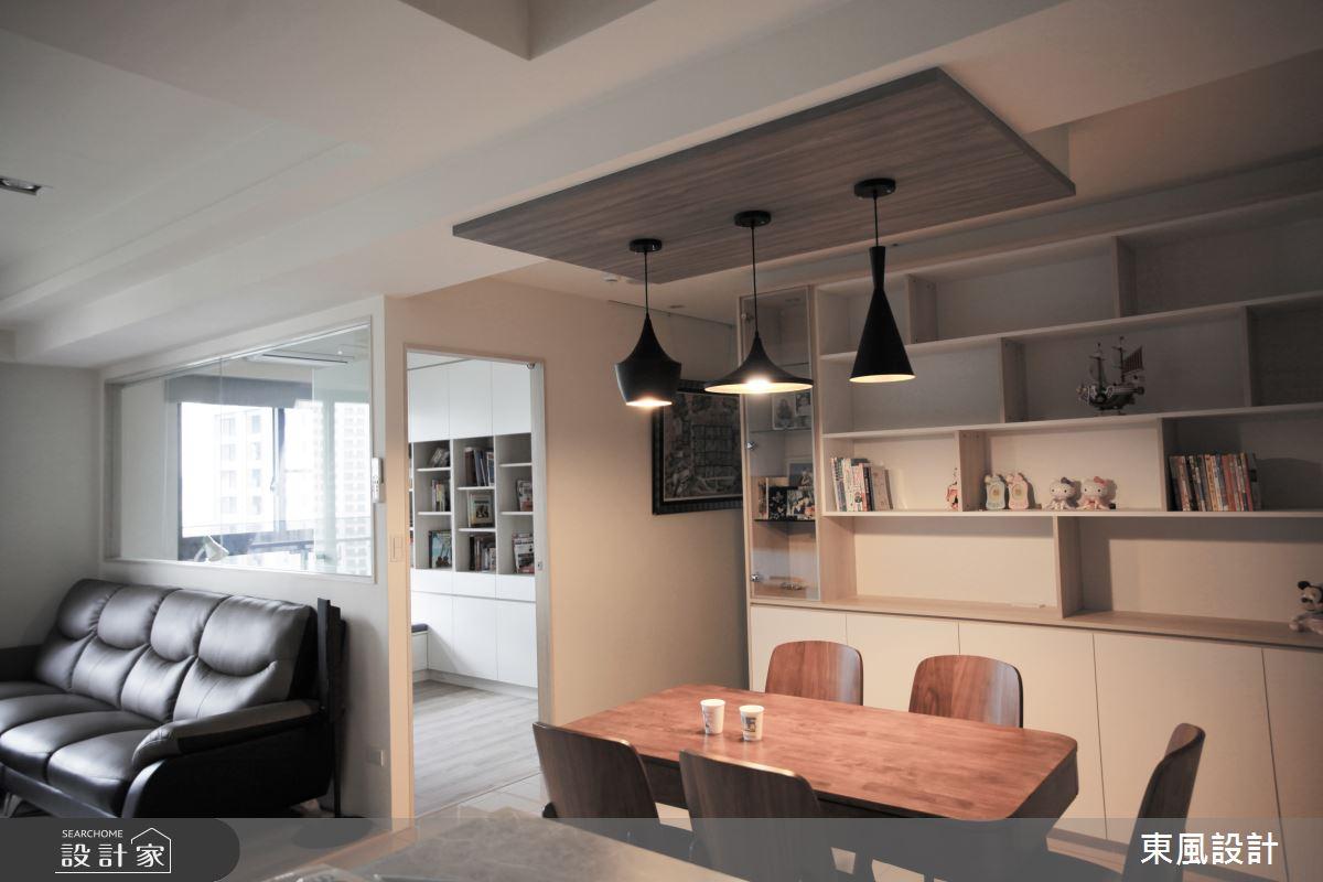 30坪新成屋(5年以下)_現代風餐廳案例圖片_東風室內設計_東風_39之5