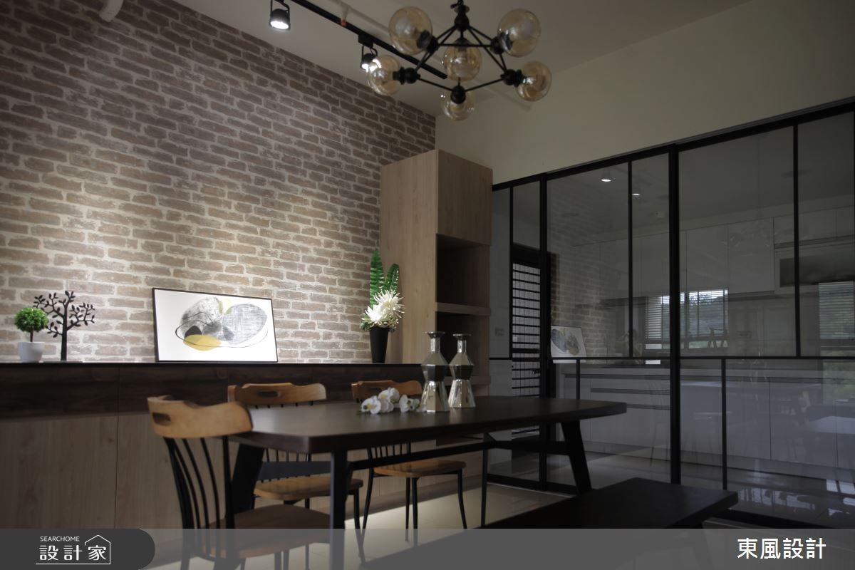 35坪新成屋(5年以下)_工業風餐廳案例圖片_東風室內設計_東風_40之5