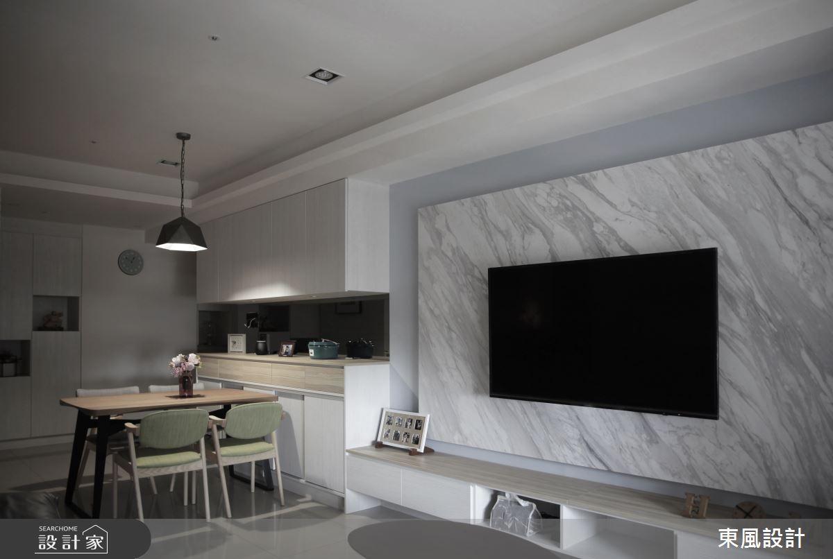 25坪新成屋(5年以下)_休閒風餐廳案例圖片_東風室內設計_東風_42之2