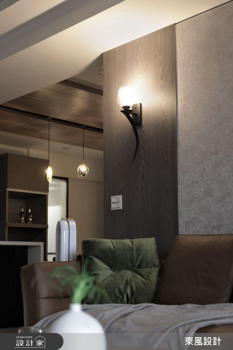 45坪新成屋(5年以下)_現代風客廳案例圖片_東風室內設計_東風_47之4