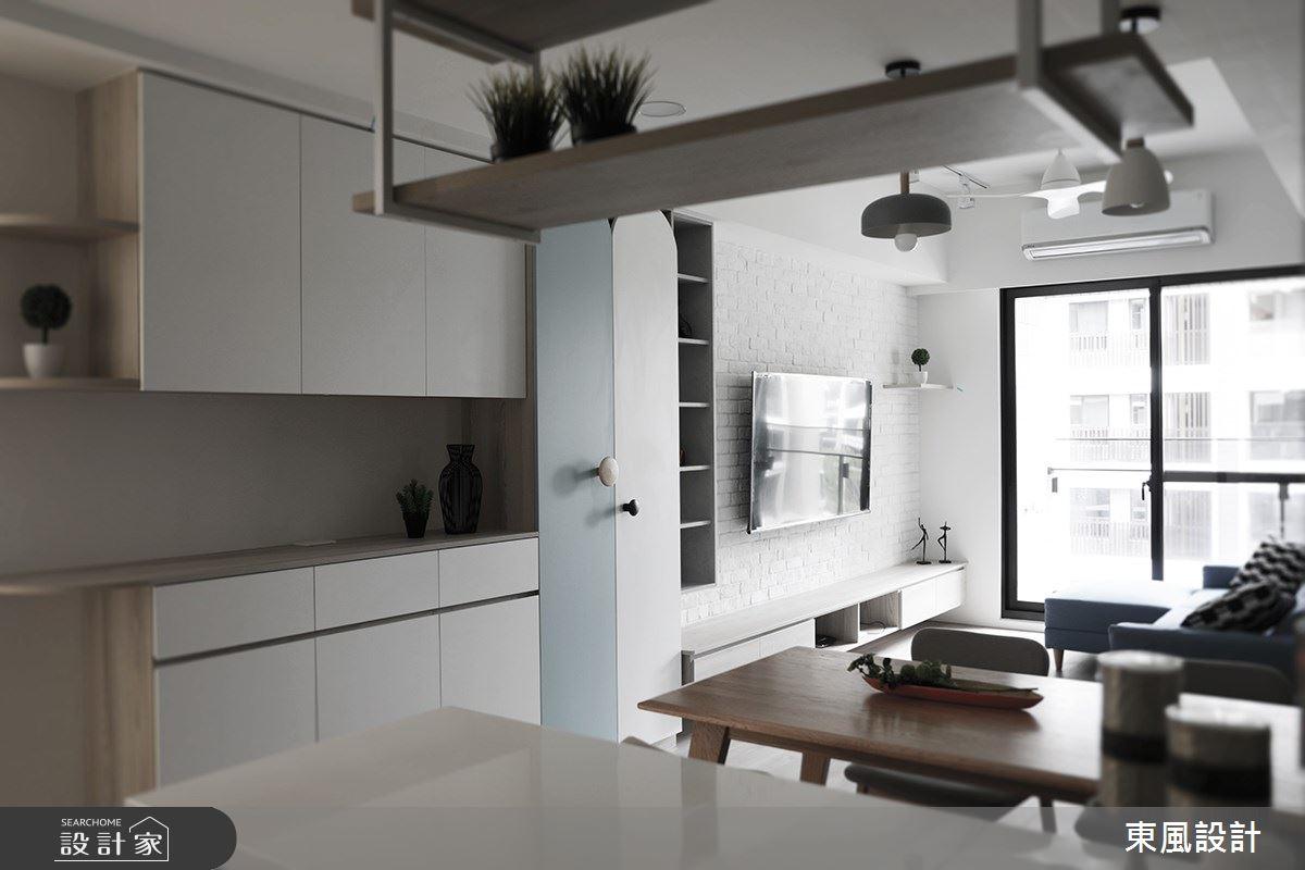 22坪新成屋(5年以下)_北歐風餐廳案例圖片_東風室內設計_東風_48之2