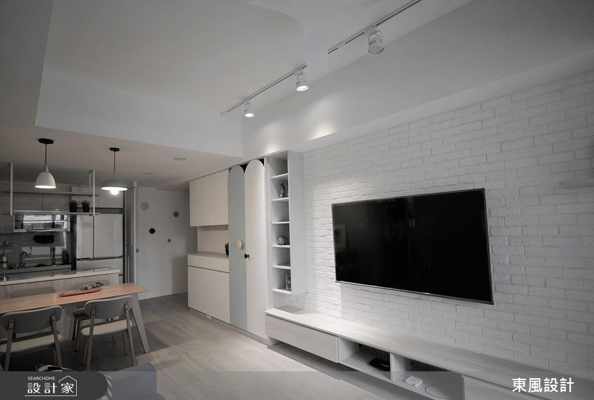 22坪新成屋(5年以下)_北歐風客廳案例圖片_東風室內設計_東風_48之7