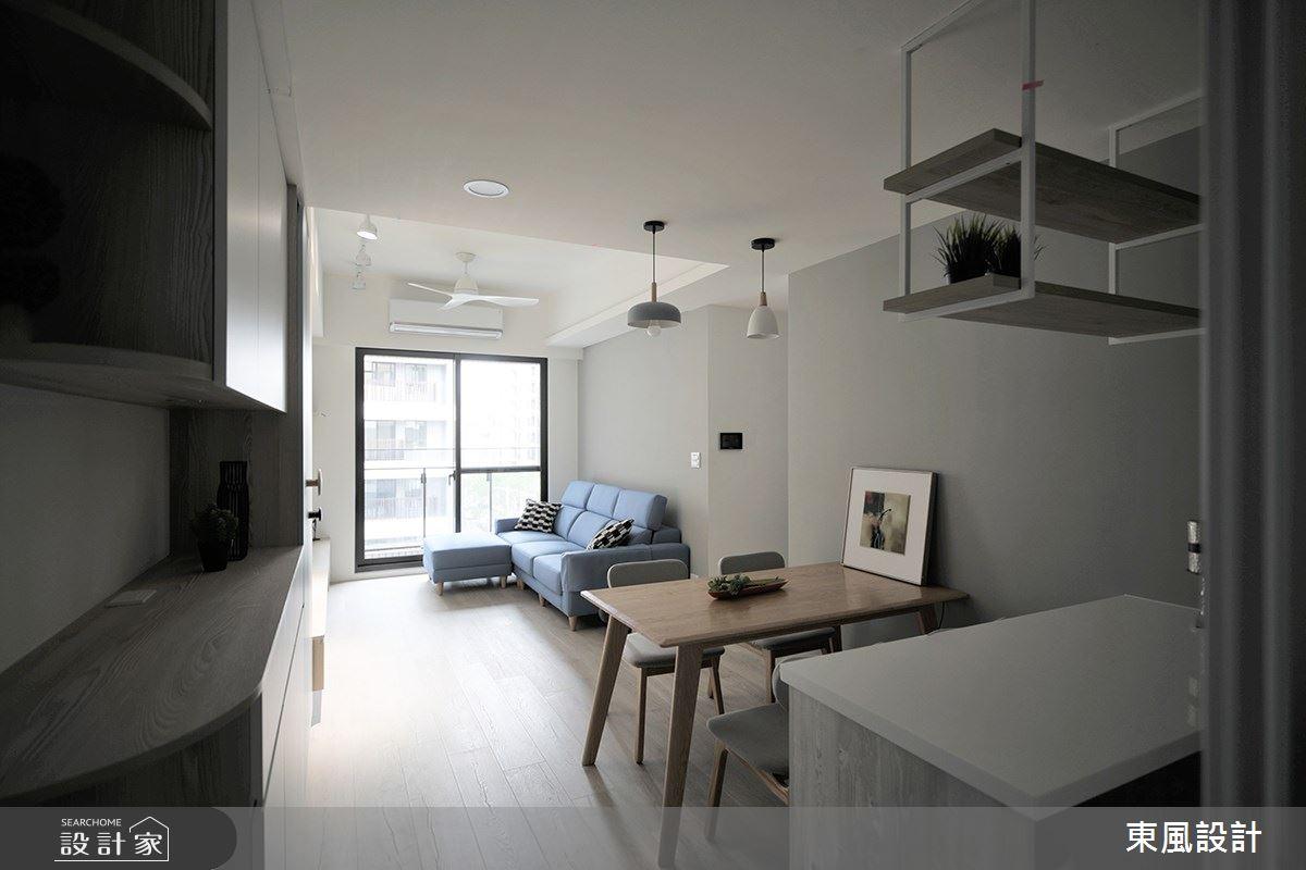 22坪新成屋(5年以下)_北歐風客廳餐廳案例圖片_東風室內設計_東風_48之1
