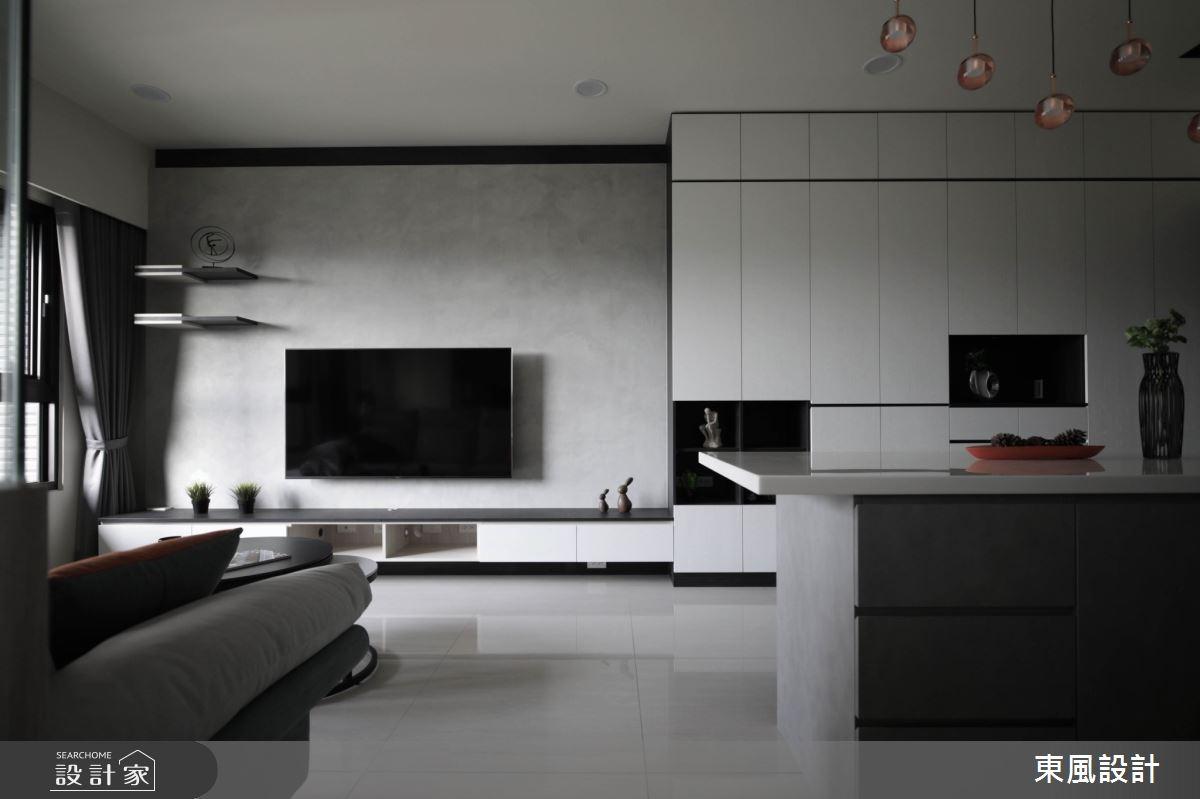26坪新成屋(5年以下)_現代風案例圖片_東風室內設計_東風_51之4