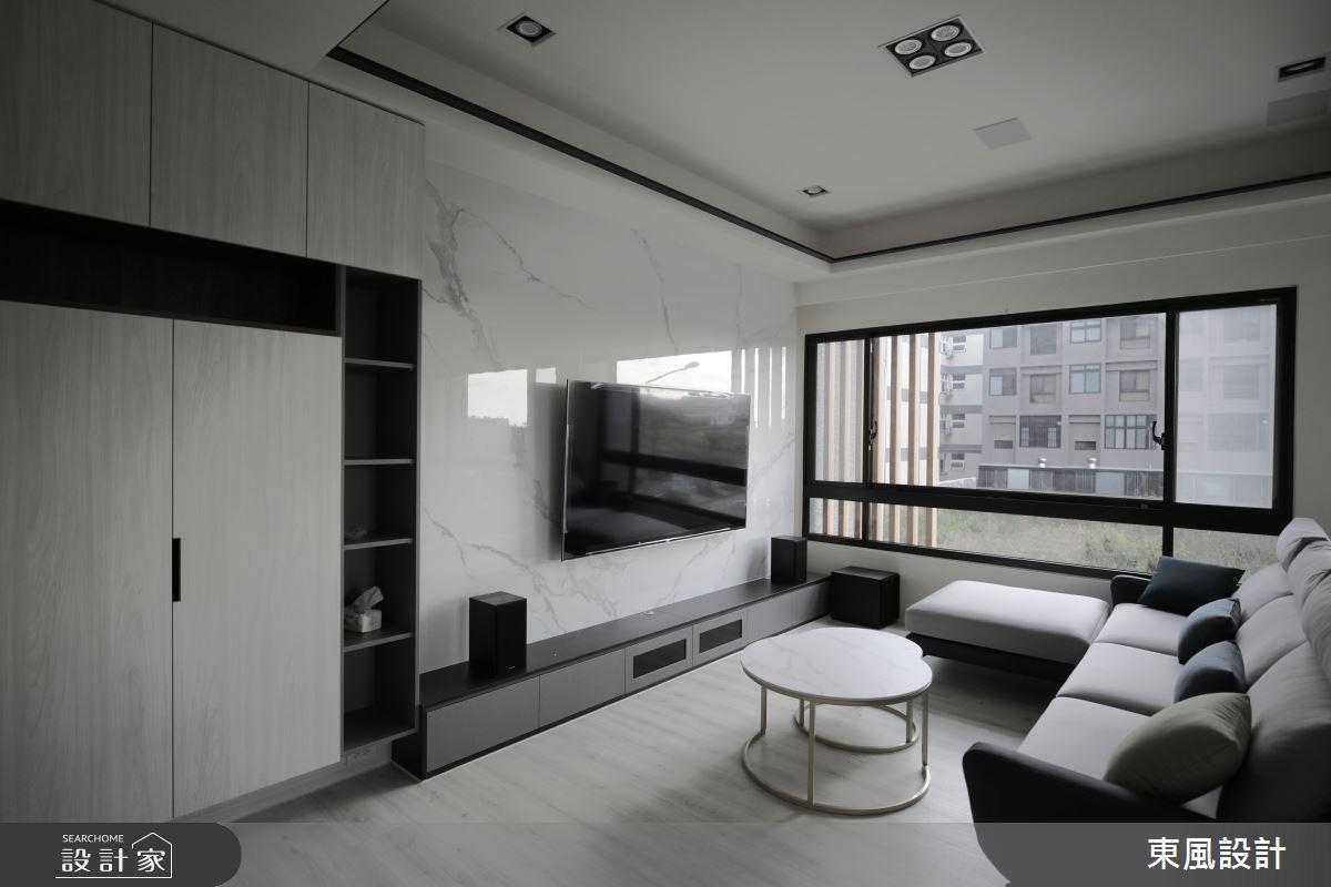 80坪新成屋(5年以下)_現代風案例圖片_東風室內設計_東風_52之2