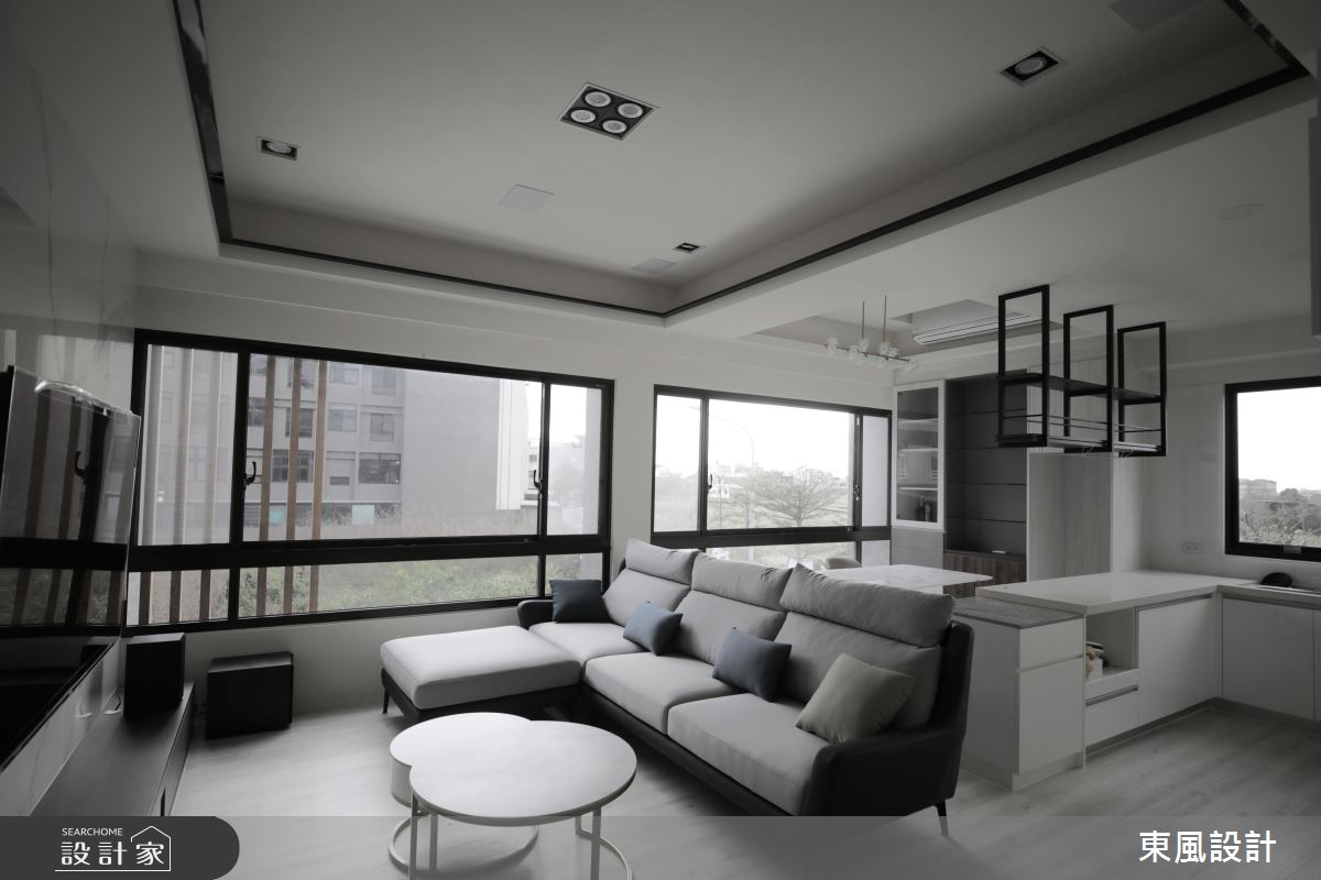 80坪新成屋(5年以下)_現代風案例圖片_東風室內設計_東風_52之3