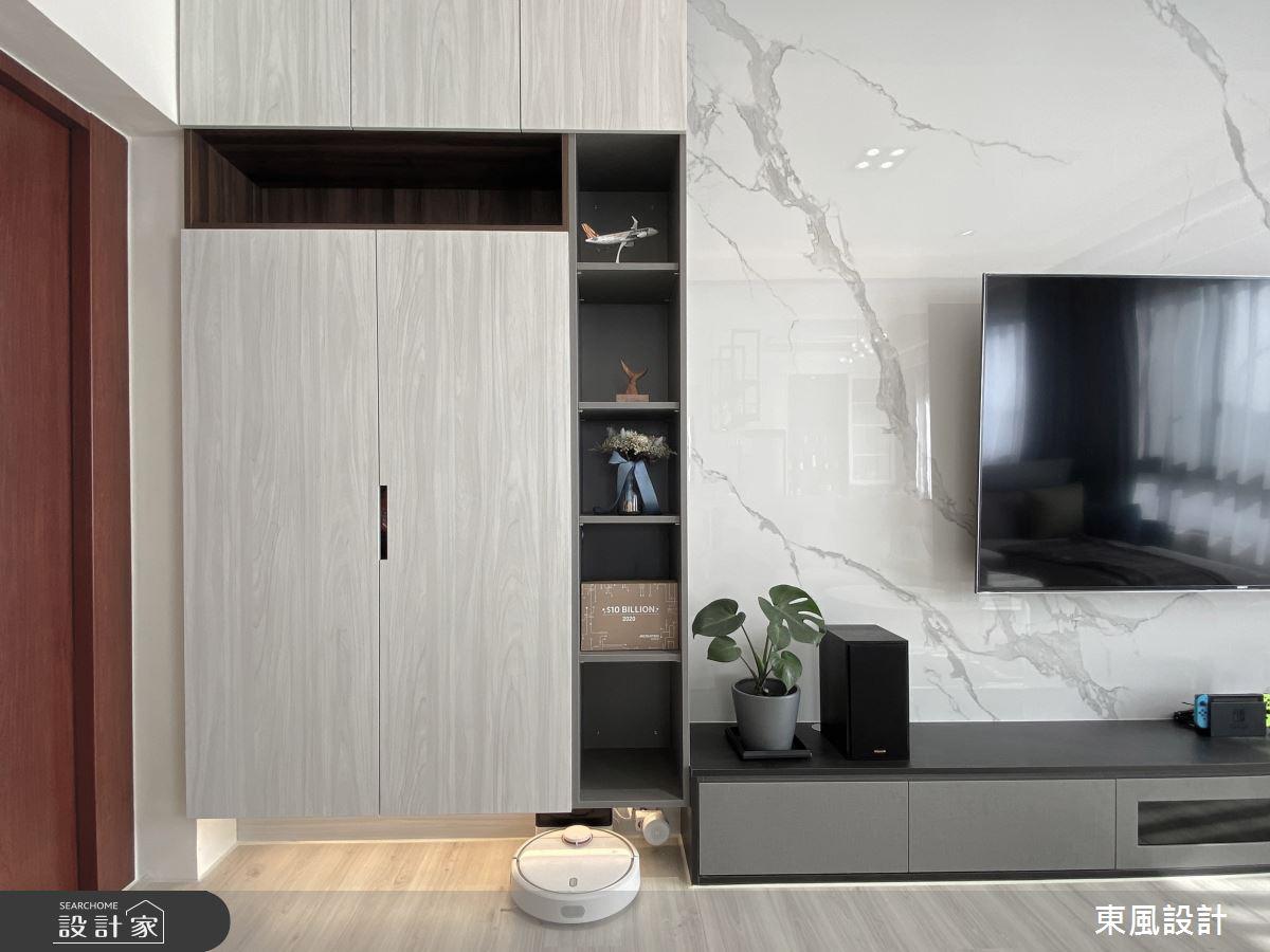 80坪新成屋(5年以下)_現代風案例圖片_東風室內設計_東風_52之1