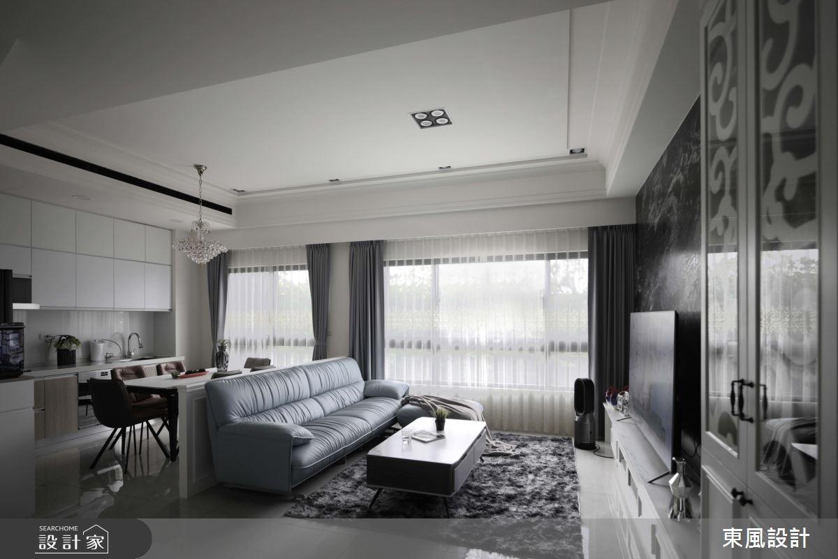 80坪新成屋(5年以下)_新古典案例圖片_東風室內設計_東風_53之2