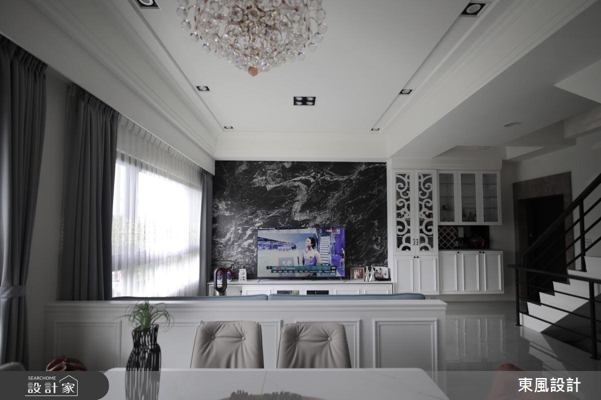 80坪新成屋(5年以下)_新古典案例圖片_東風室內設計_東風_53之4