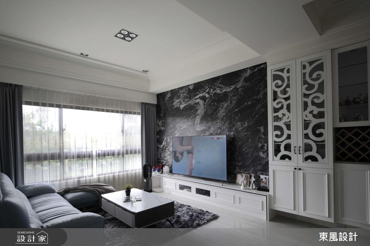 80坪新成屋(5年以下)_新古典案例圖片_東風室內設計_東風_53之1