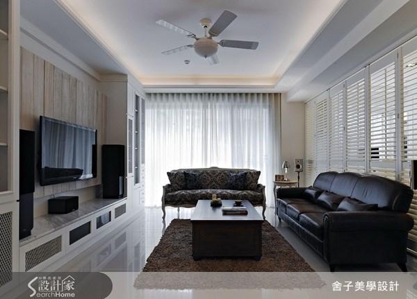 新成屋(5年以下)_混搭風客廳案例圖片_舍子美學設計_舍子美學_09之1