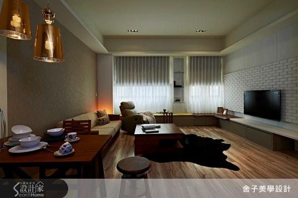 66坪新成屋(5年以下)_北歐風客廳案例圖片_舍子美學設計_舍子美學_22之1