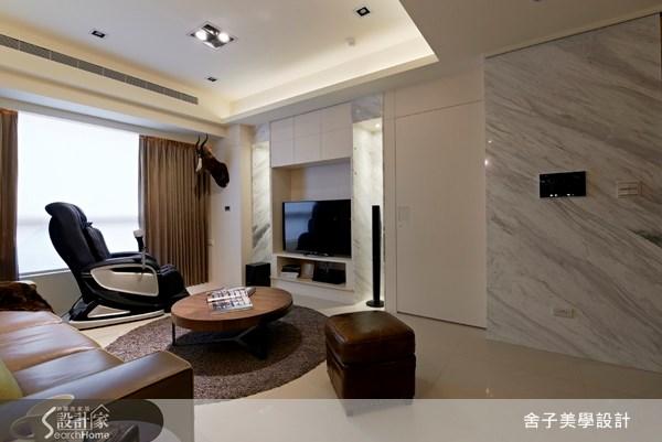 40坪新成屋(5年以下)_簡約風客廳案例圖片_舍子美學設計_舍子美學_24之4