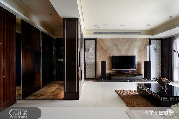 55坪新成屋(5年以下)_奢華風客廳案例圖片_舍子美學設計_舍子美學_28之5