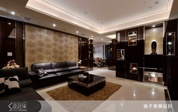 55坪新成屋(5年以下)_奢華風客廳案例圖片_舍子美學設計_舍子美學_28之1