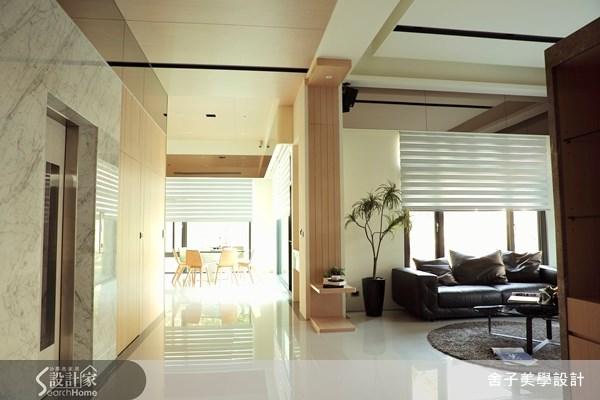 150坪新成屋(5年以下)_簡約風客廳案例圖片_舍子美學設計_舍子美學_29之5