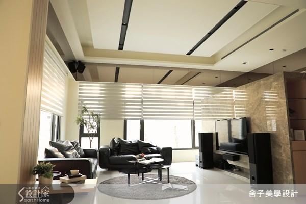 150坪新成屋(5年以下)_簡約風客廳案例圖片_舍子美學設計_舍子美學_29之3
