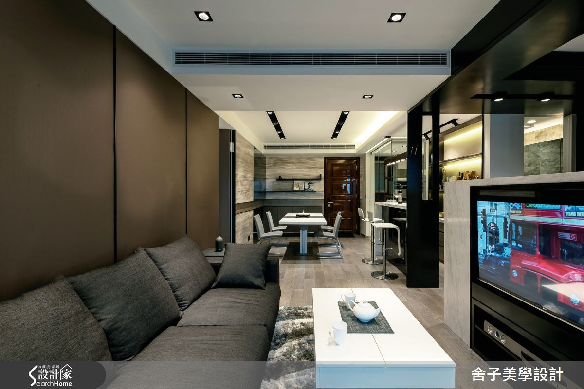 新成屋(5年以下)_現代風客廳案例圖片_舍子美學設計_舍子美學_33之1