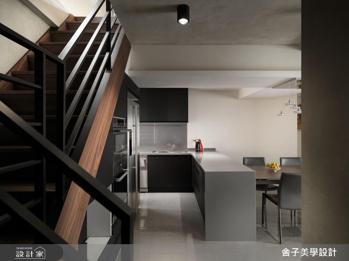 54坪老屋(16~30年)_工業風廚房案例圖片_舍子美學設計_舍子美學_43之9