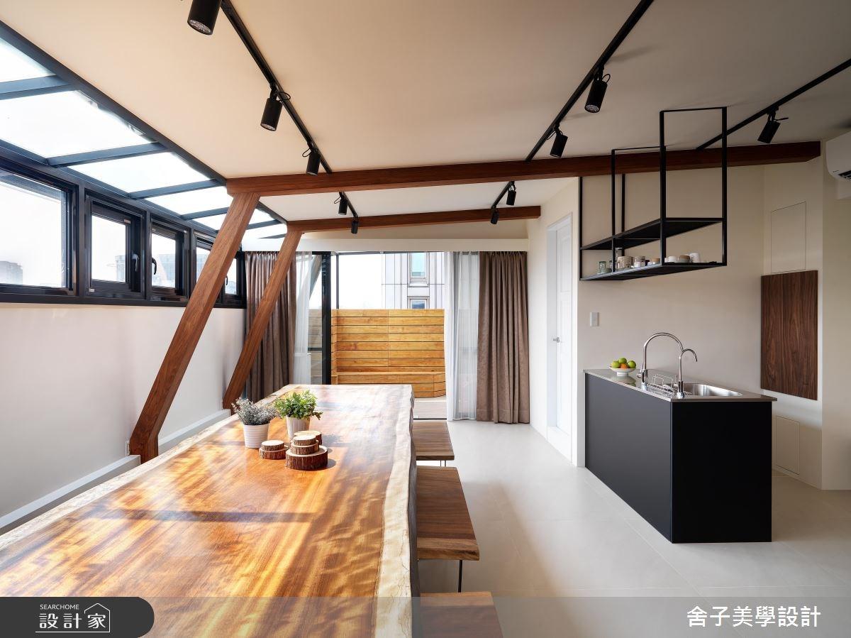 54坪老屋(16~30年)_工業風餐廳案例圖片_舍子美學設計_舍子美學_43之11