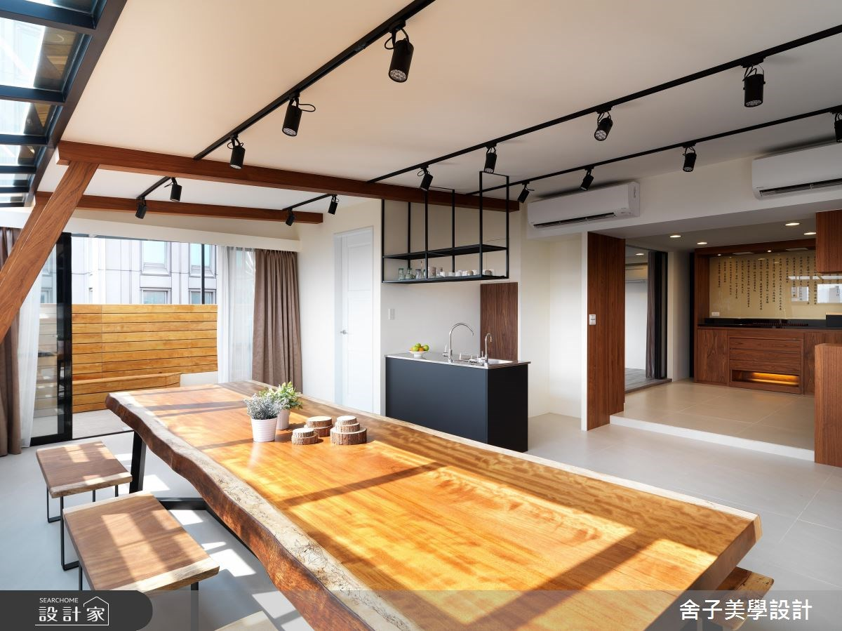 54坪老屋(16~30年)_工業風餐廳案例圖片_舍子美學設計_舍子美學_43之12