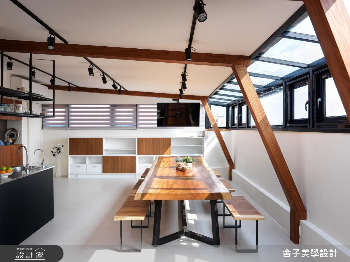 54坪老屋(16~30年)_工業風餐廳案例圖片_舍子美學設計_舍子美學_43之14