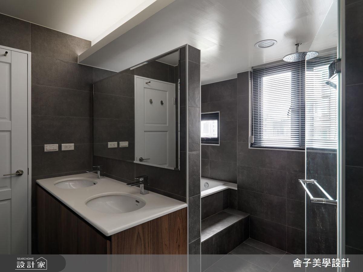 54坪老屋(16~30年)_工業風浴室案例圖片_舍子美學設計_舍子美學_43之15