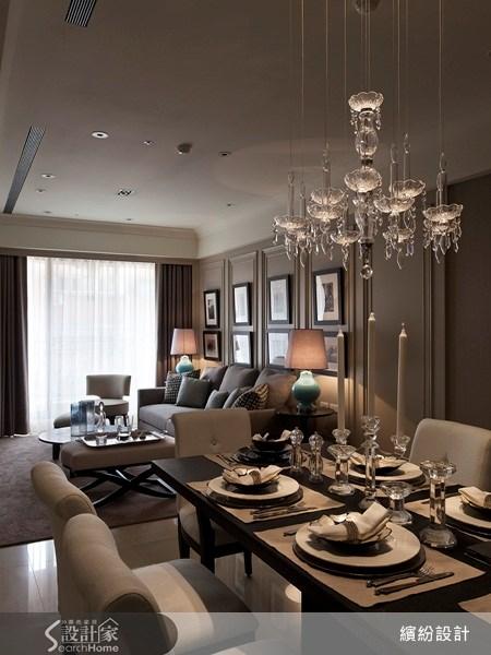 26坪新成屋(5年以下)_新古典餐廳案例圖片_L′atelier Fantasia 繽紛設計_繽紛_15之13