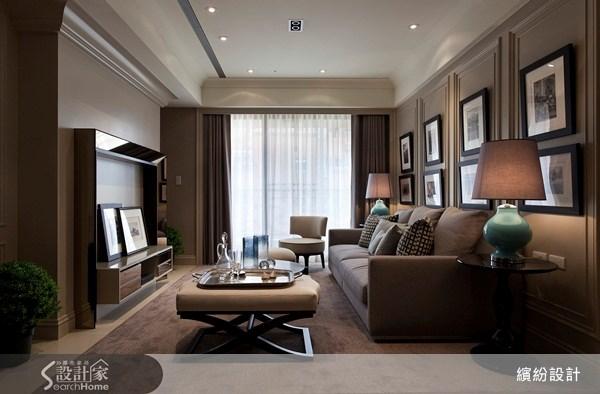 26坪新成屋(5年以下)_新古典客廳案例圖片_L′atelier Fantasia 繽紛設計_繽紛_15之10