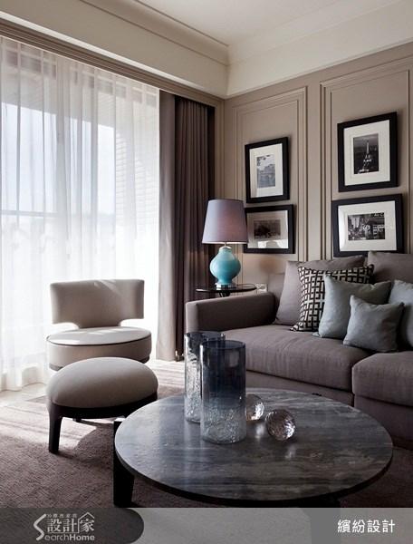 26坪新成屋(5年以下)_新古典客廳案例圖片_L′atelier Fantasia 繽紛設計_繽紛_15之7