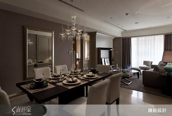 26坪新成屋(5年以下)_新古典餐廳案例圖片_L′atelier Fantasia 繽紛設計_繽紛_15之12