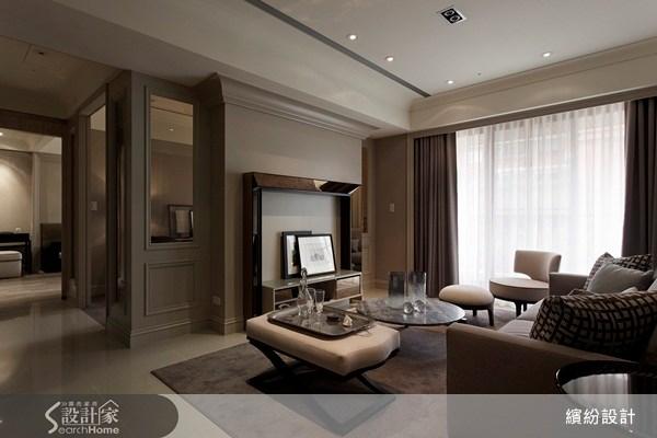 26坪新成屋(5年以下)_新古典客廳案例圖片_L′atelier Fantasia 繽紛設計_繽紛_15之11