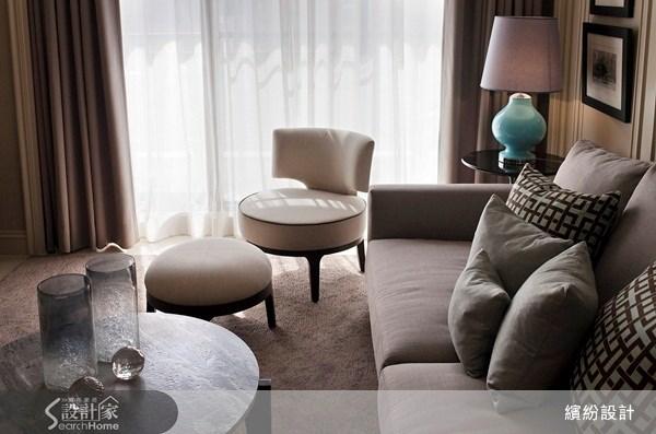 26坪新成屋(5年以下)_新古典客廳案例圖片_L′atelier Fantasia 繽紛設計_繽紛_15之9