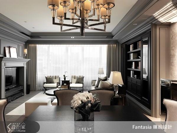 83坪新成屋(5年以下)_新古典餐廳案例圖片_L′atelier Fantasia 繽紛設計_繽紛_19之4