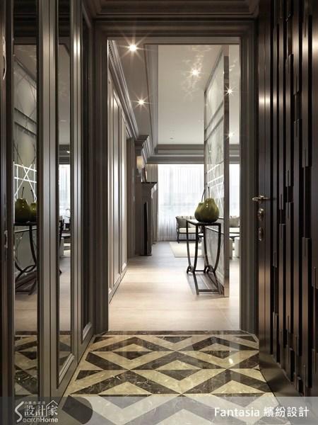 83坪新成屋(5年以下)_新古典走廊案例圖片_L′atelier Fantasia 繽紛設計_繽紛_19之1