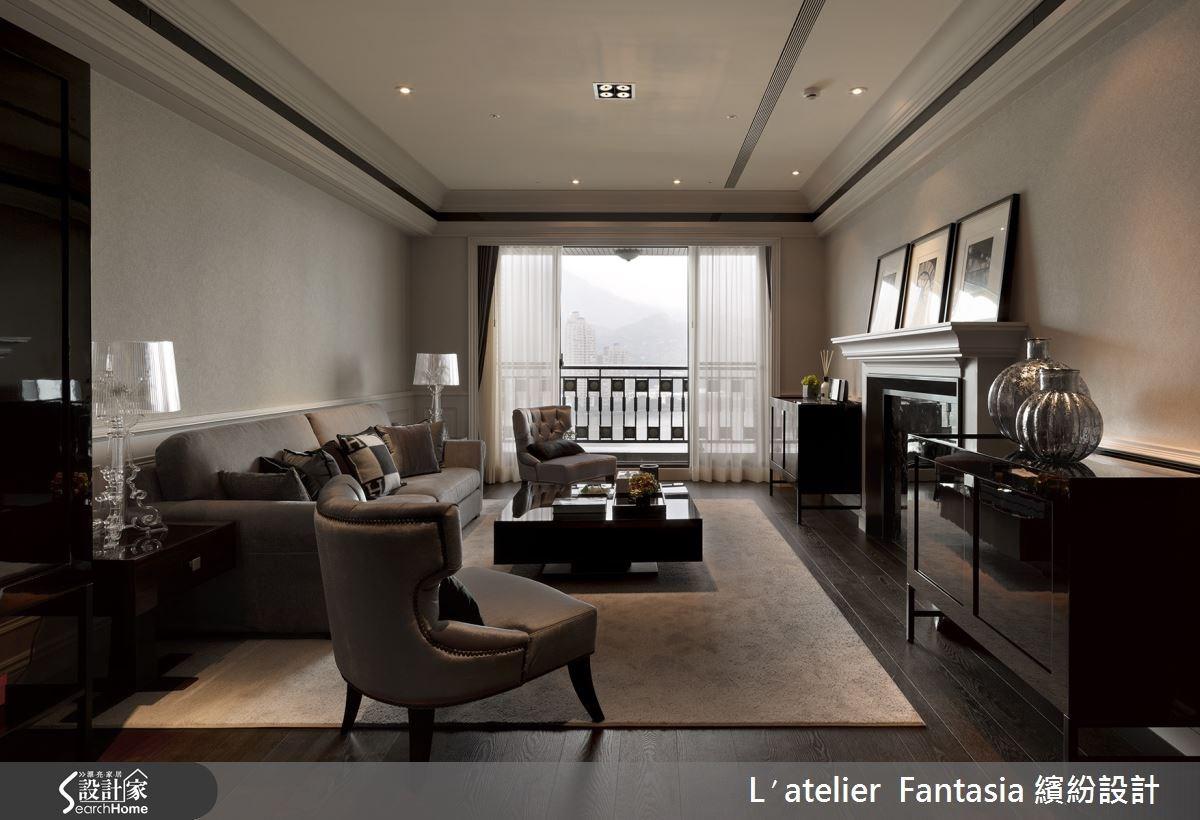 新成屋(5年以下)_新古典客廳案例圖片_L′atelier Fantasia 繽紛設計_繽紛_27之1
