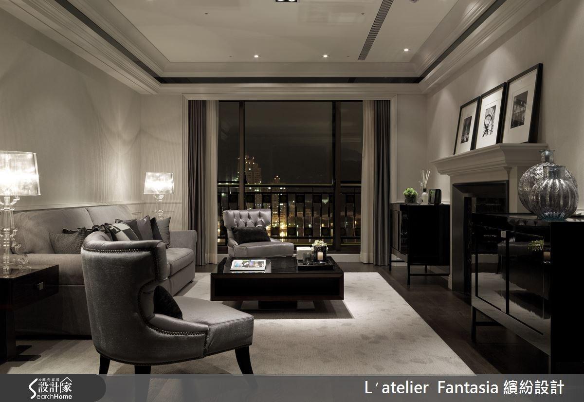 新成屋(5年以下)_新古典客廳案例圖片_L′atelier Fantasia 繽紛設計_繽紛_27之2