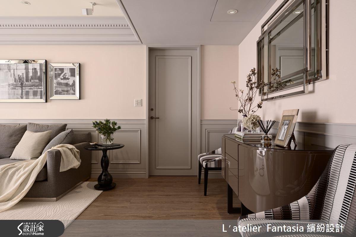 34坪老屋(16~30年)_新古典客廳案例圖片_L′atelier Fantasia 繽紛設計_繽紛_29之2