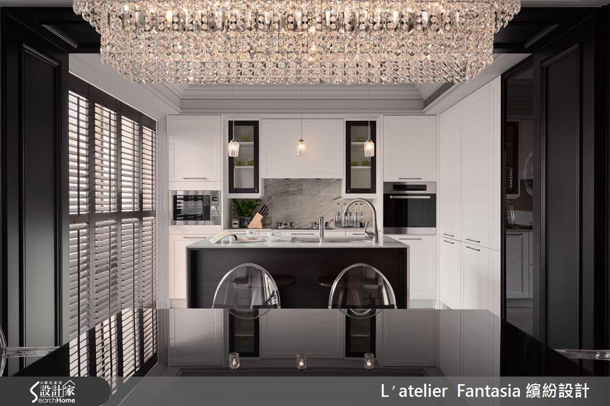 34坪老屋(16~30年)_新古典餐廳案例圖片_L′atelier Fantasia 繽紛設計_繽紛_29之4